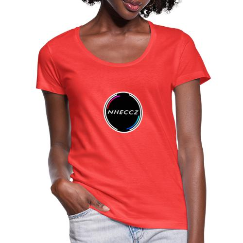 NHECCZ Logo Collection - Women's Scoop Neck T-Shirt