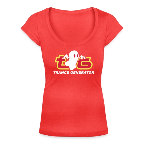 logo tg noblackbg - Women's Scoop Neck T-Shirt