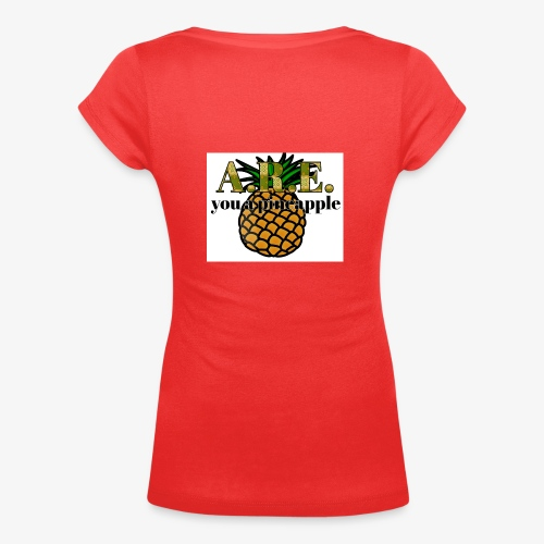 Are you a pineapple - Women's Scoop Neck T-Shirt