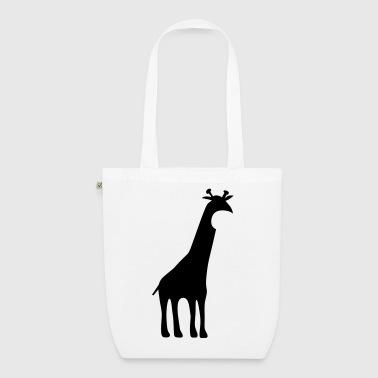 Giraffe - Bio stoffen tas