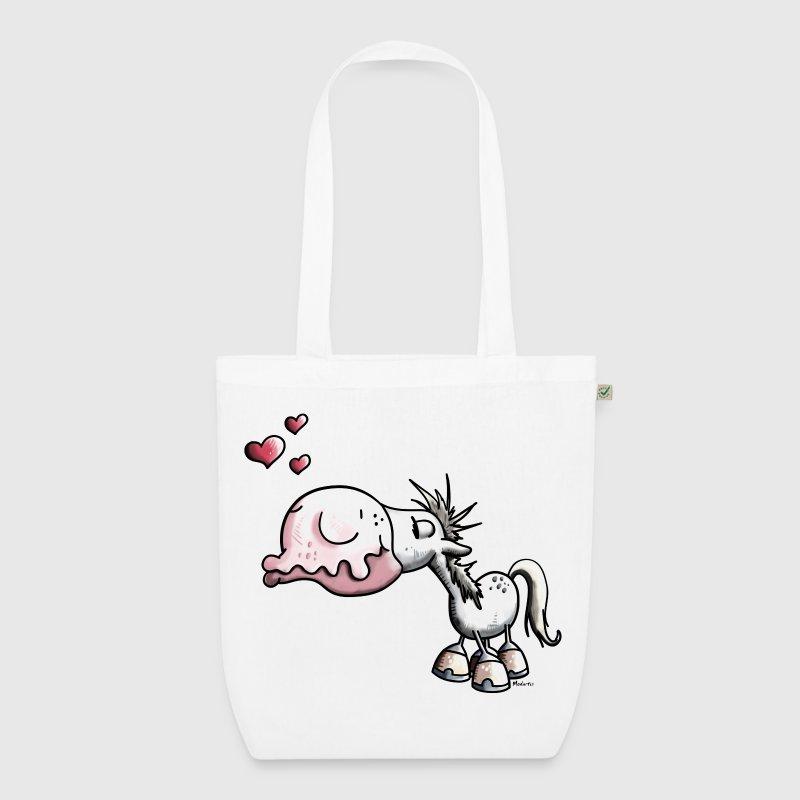 Stoffen Tas Design : Paard kus poney ponies stoffen tas spreadshirt