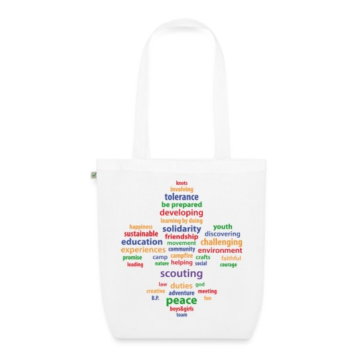 scouting is colored - EarthPositive Tote Bag