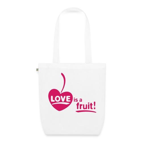 love_is_a_fruit_1c_225x225 - Bio-Stoffbeutel