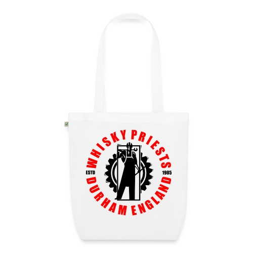 IRON MAN LOGO RED BLACK TRANS - EarthPositive Tote Bag