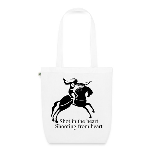 Shot in the Heart - EarthPositive Tote Bag