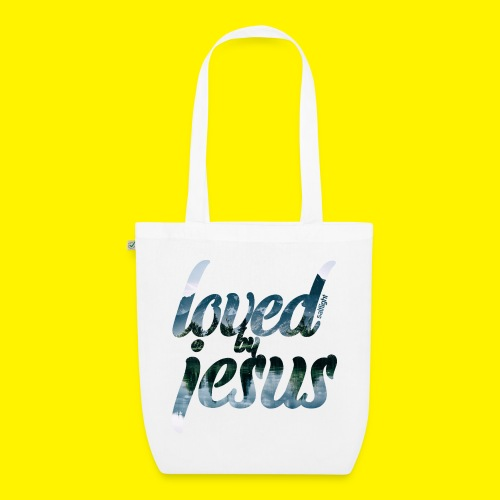 LOVED BY JESUS - EarthPositive Tote Bag