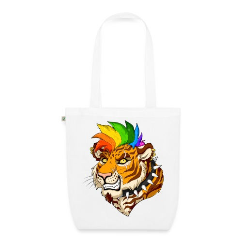 Punk Tiger - Ekologiczna torba materiałowa