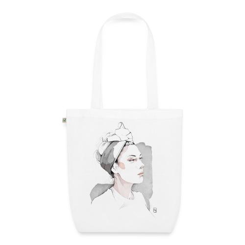 woman with headband - Borsa ecologica in tessuto