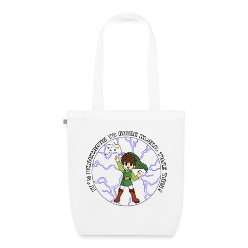 Dangerous To Game Alone - EarthPositive Tote Bag