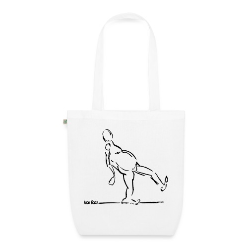 Lean Back Doodle - EarthPositive Tote Bag