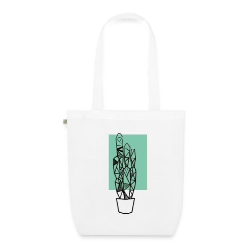 Kleiner Designer Kaktus - Bio-Stoffbeutel
