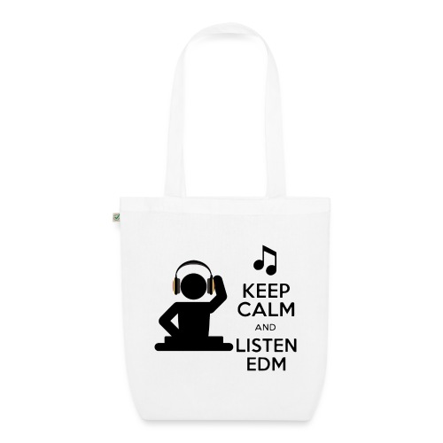 keep calm and listen edm - EarthPositive Tote Bag