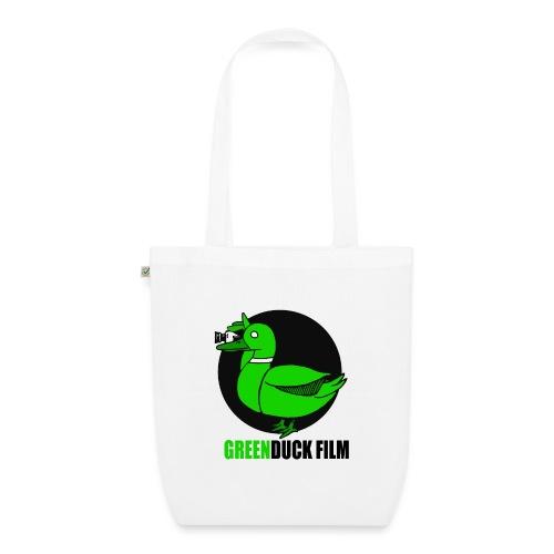 Greenduck Film Logo w. black letters - Øko-stoftaske