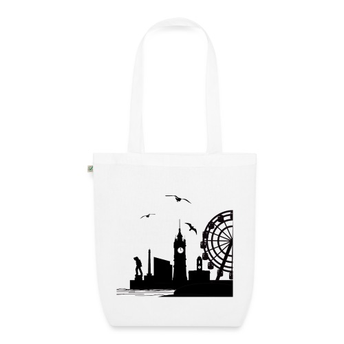 Silhouette of Margate - EarthPositive Tote Bag
