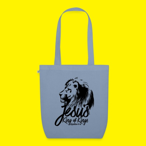 JESUS - KING OF KINGS - Revelations 19:16 - LION - EarthPositive Tote Bag