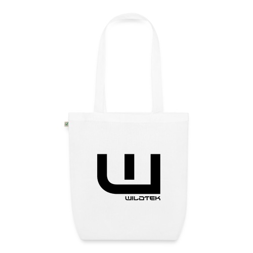 Wildtek Logo Black - EarthPositive Tote Bag