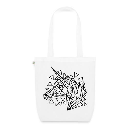 unicornio minimalista - Bolsa de tela ecológica