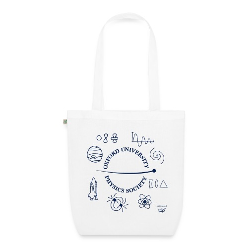 2020 OUPS Logo (Dark on Light) - EarthPositive Tote Bag