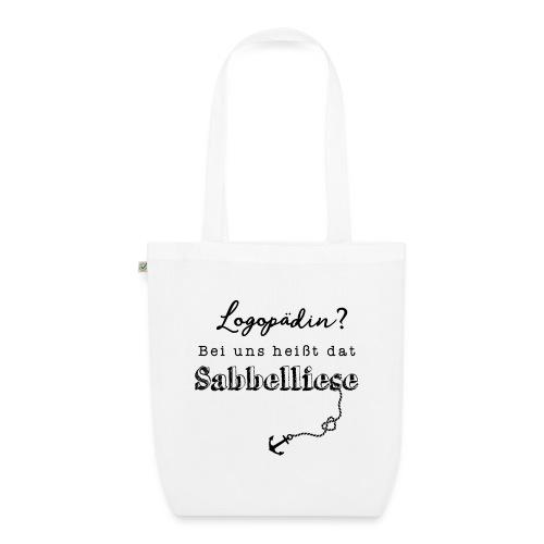 Bei uns heißt dat Sabbelliese - Bio-Stoffbeutel