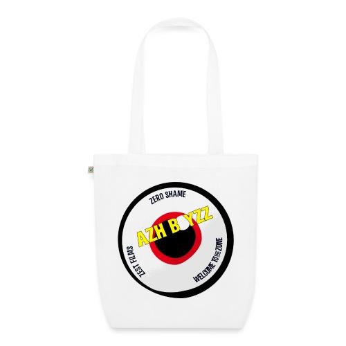 A&B • Eyeball with slogan (1 print: front) - Luomu-kangaskassi