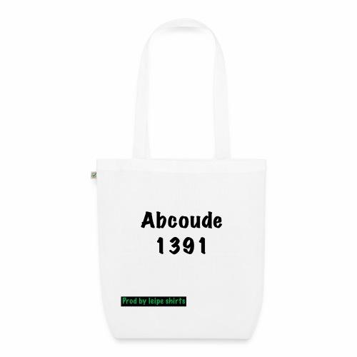 Abcoude post code merk - Bio stoffen tas