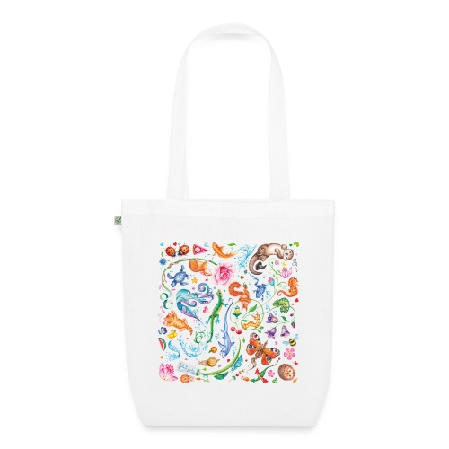 Animals by Maria Tiqwah - EarthPositive Tote Bag