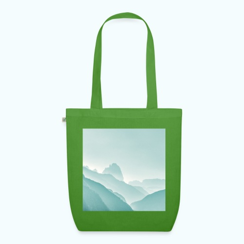 Minimalist zen mountains pastel - EarthPositive Tote Bag