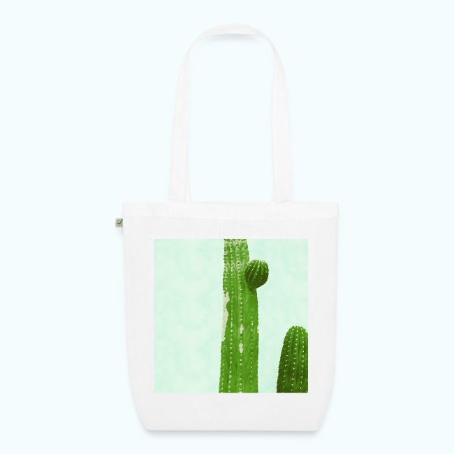 Cactus minimalism watercolor
