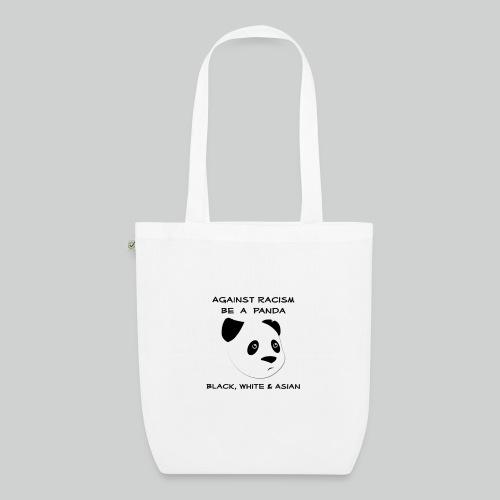 Against Racism Panda - Bio-Stoffbeutel