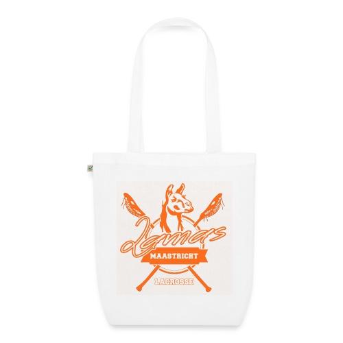 Llamas - Maastricht Lacrosse - Oranje - Bio stoffen tas