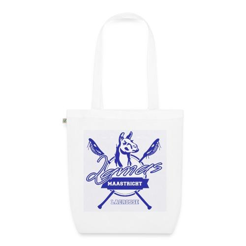 Llamas - Maastricht Lacrosse - Blauw - Bio stoffen tas