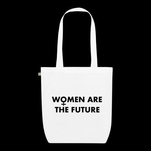 women are the future - Ekologiczna torba materiałowa