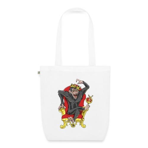 Bitcoin Monkey King - Beta Edition - Bio-Stoffbeutel