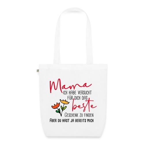 Mamas bestes Geschenk - Bio-Stoffbeutel
