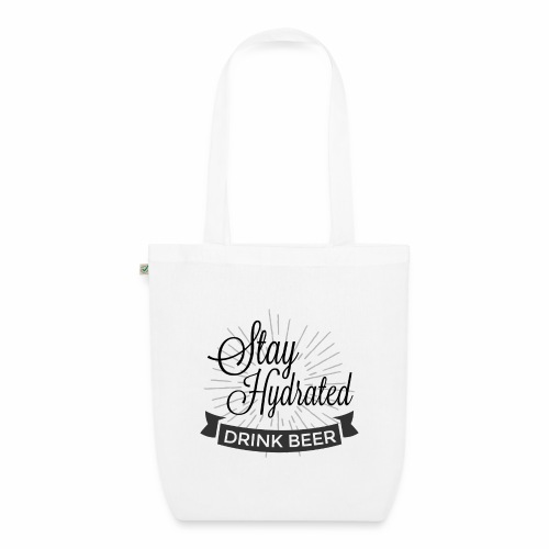 Stay Hydrated - EarthPositive Tote Bag