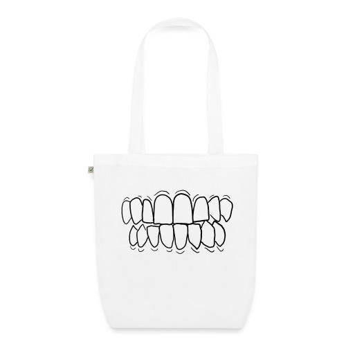 TEETH! - EarthPositive Tote Bag