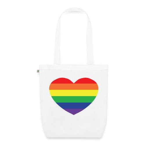 Rainbow heart - EarthPositive Tote Bag