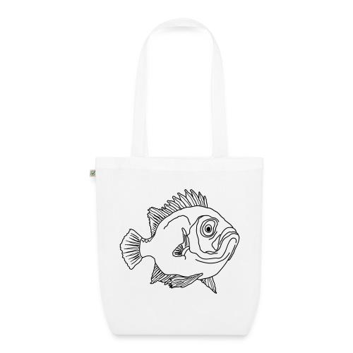 Fisch Barsch Ozean Meer Wasser Aquarium Angeln - Bio-Stoffbeutel