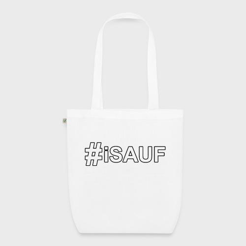 Hashtag iSauf - Bio-Stoffbeutel