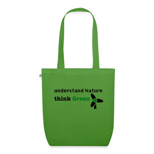 Understand Nature. Think Green! - EarthPositive Tote Bag