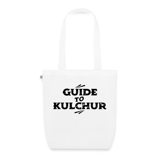 Guide to Kulchur - EarthPositive Tote Bag