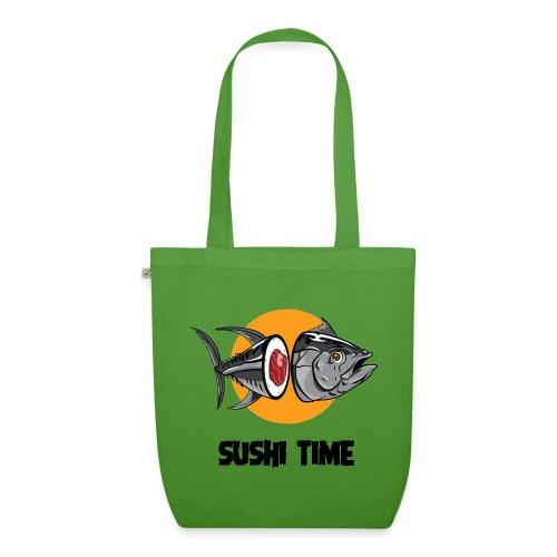 SUSHI TIME-tonno-n - Borsa ecologica in tessuto