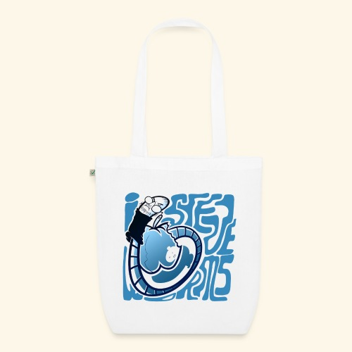 i STEVE WORMS - EarthPositive Tote Bag