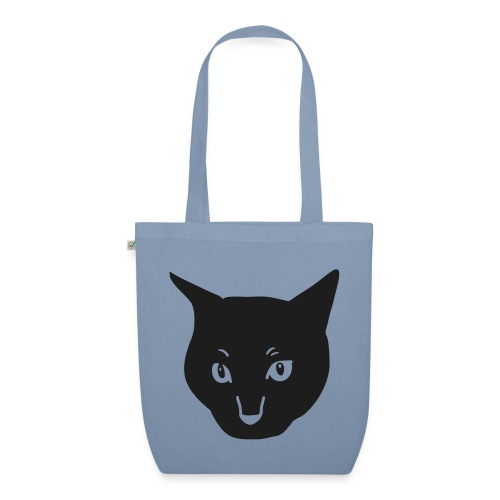 Black Cat - EarthPositive Tote Bag