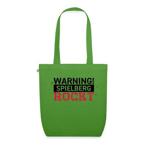 WARNING - Spielberg rockt! - Bio-Stoffbeutel