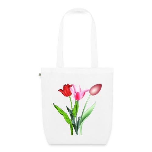 summer floral collection - Borsa ecologica in tessuto