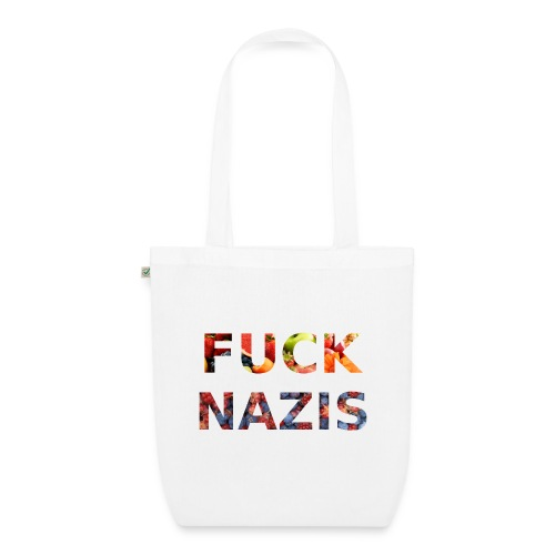 Fuck Nazis with Fruits - Bio-Stoffbeutel