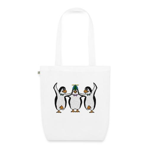 Penguin Trio - EarthPositive Tote Bag