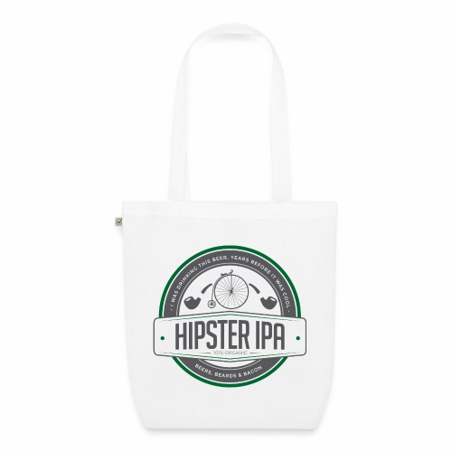 Hipster IPA - EarthPositive Tote Bag