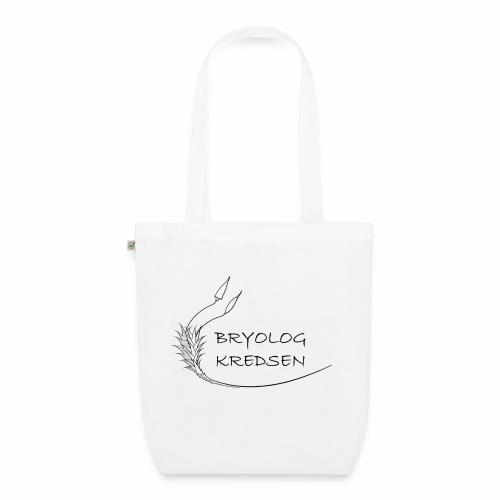 Bryologkredsen - sort logo - Øko-stoftaske
